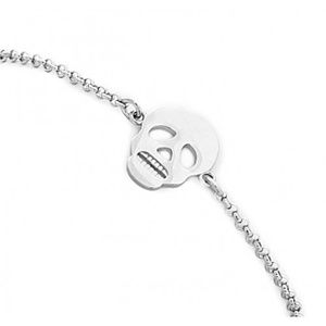 Jewelry - SILVER SKULL BRACELET